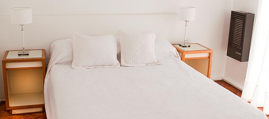 Dormitorios totalmente amoblados